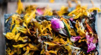 Kosmetik Bio nachhaltig DIY Badebombe Blüten